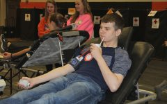 West Delaware Holds Blood Drive