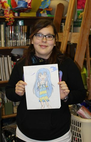 Becca's Beloved: Sophomore Rebecca Cole Expresses Her Love for Anime