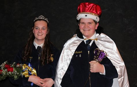 FFA King and Queen Crowned at Banquet