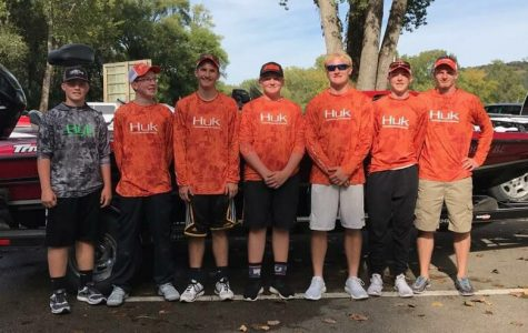 New Fishing Team Places Top 3 in Tournament