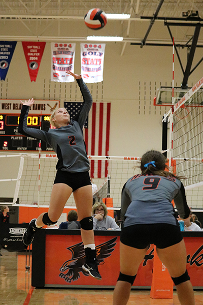 Sophomores Wrap Up Volleyball Season