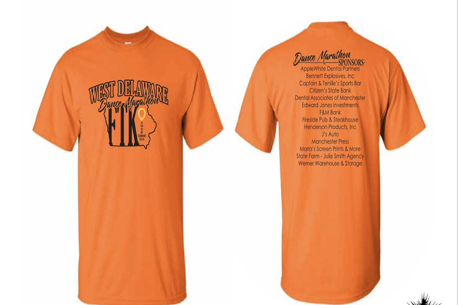 The Dance Marathon T-Shirt order forms are in the high school office and are due Jan. 17. The price is $12, with atleast 1 dollar going towards the Dance Marathon.