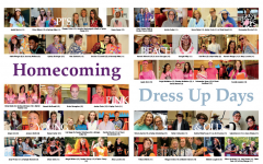 Check Out Our Yearbook - Homecoming Dress Up Days