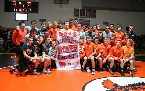 The Hawks Reappear at State Duals