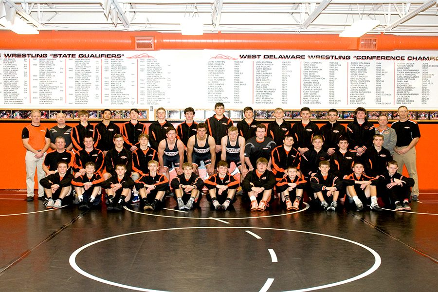 Wrestling Takes Third Place at State Duals