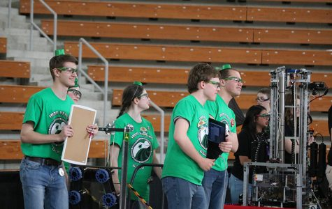 Robotics Team Competes at Iowa Regional Competition