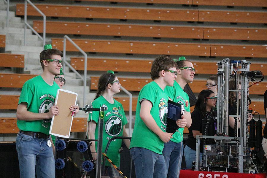 Robotics Team Competes at Iowa Regional Competition