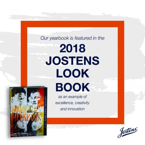 West Delaware's 2017 Yearbook Featured in Jostens Look Book!