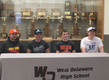 Students Sign to Play College Ball