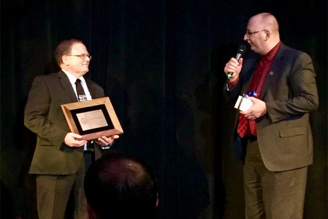 Duane Philgreen Receives Distinguished Service Award