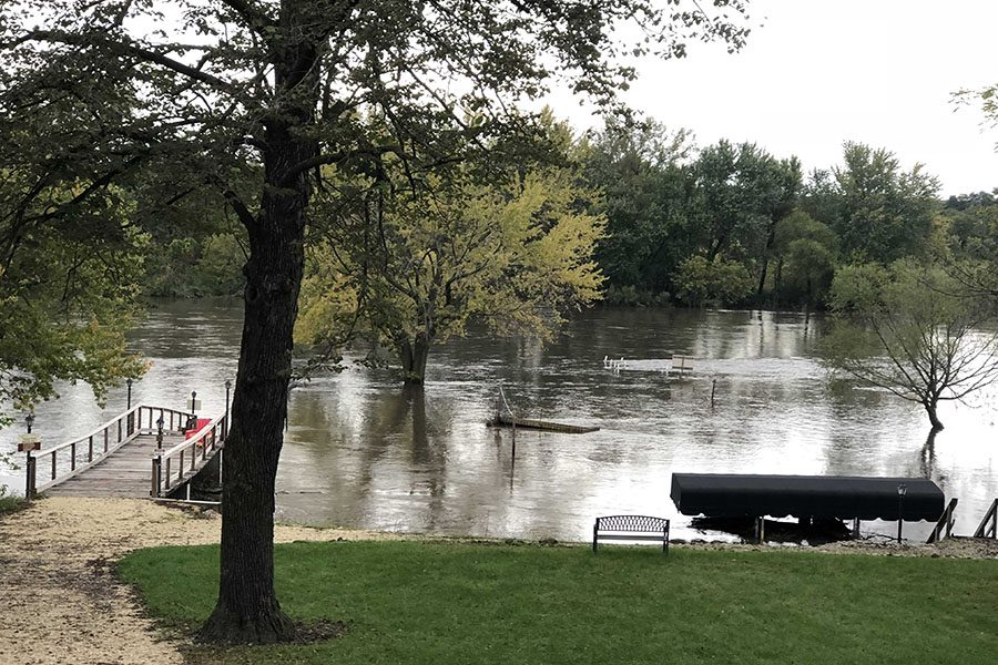On Oct. 1, rain struck Delaware Country resulting in a flood.