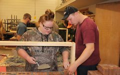 Students Learn Masonry in Carpentry