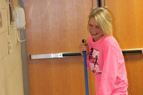 Custodian Lisa Tutton Brightens More than Hallways