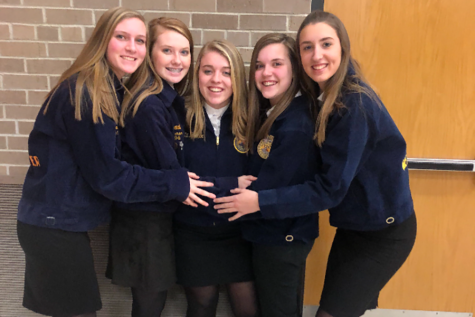 FFA Competes at Sub-districts