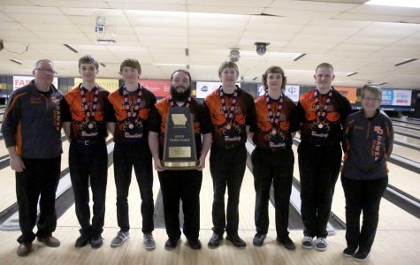 Boys Take Third at State Bowling