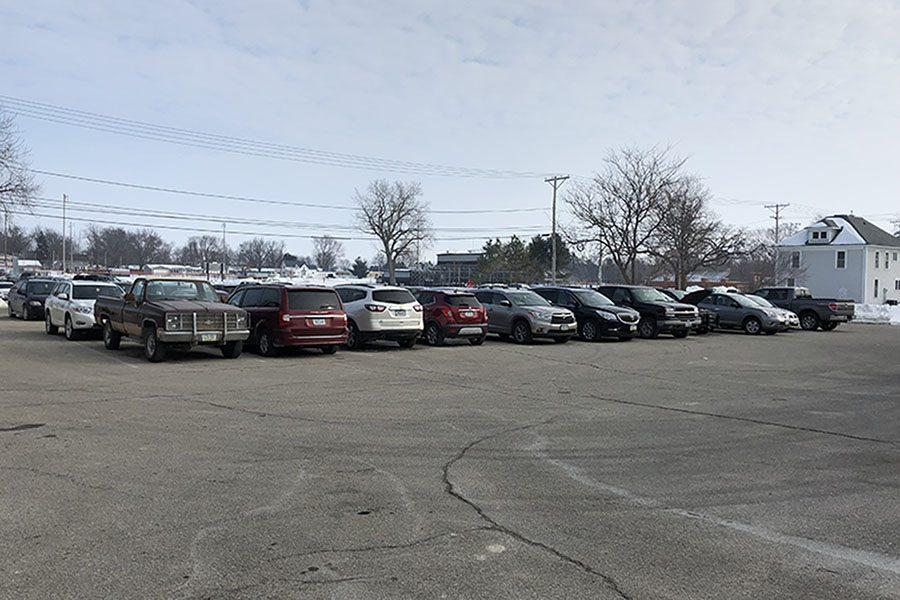 Back Parking Lot