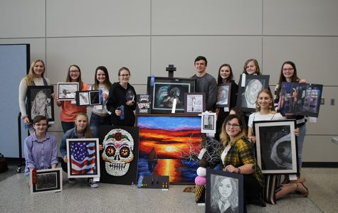 WaMaC Art Students Honored