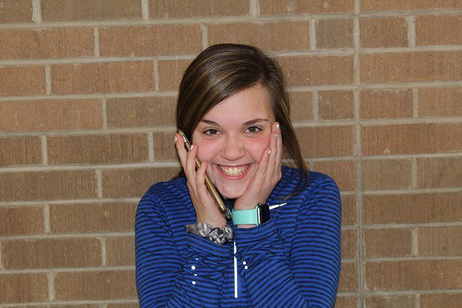 Freshman Jenna Philipp