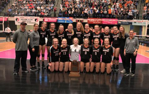 Hawks Volleyball Wrap Up Their Season at the State Tournament