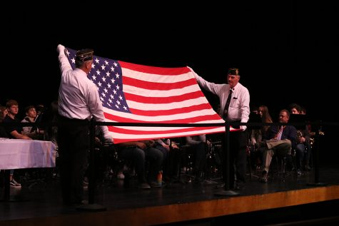 West Delaware Students Honor Veterans on Nov. 11
