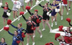 Cheerleaders Participate in Iowa Cheer Honor Squad