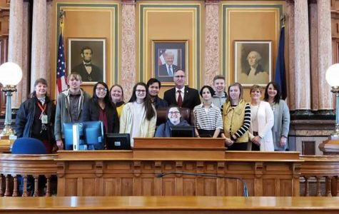 Teens Against Drugs and Alcohol Meet with Legislators