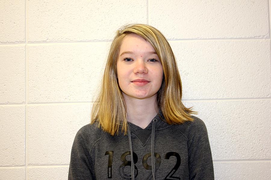 Sophomore Victoria Boeckenstedt